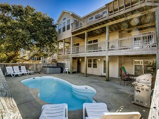 The Red Starfish Retreat | 605 ft from the beach | Dog Friendly, Private Pool, H