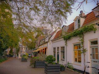 Charming House in Historic Haarlem: includes garden courtyard,bicycles & Netflix
