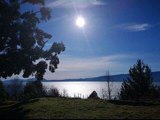 Cabañas Ayalén con vista al Lago