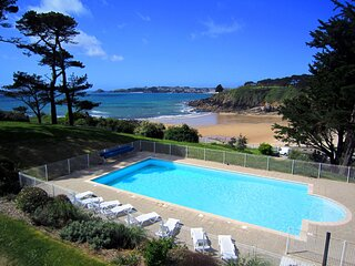 Bright apartment on the coast between Brest and Le Conquet