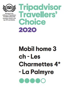 Prix Travelers' Choice 2020 remis par Trip Advisor