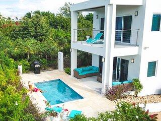 Modern Beach Villa | 250 yards from Grace Bay Beach | Sleeps 4 | Private pool