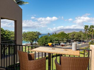 Penthouse Level 2/2, Split AC, Highly Desired Building 10 at Kamaole Sands