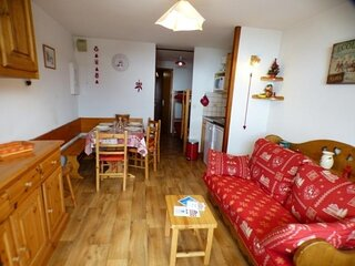 Studio cabine + alcove 27 m2, oriente SUD, classe 2**