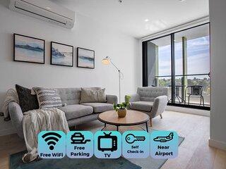 [Modern City] Comfy and warm Apt*Parkville+Carpark