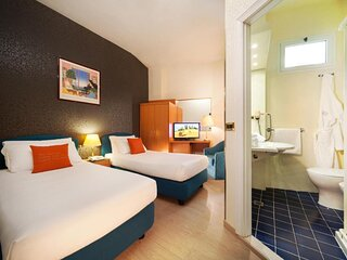 Hotel Kursaal room with single beds