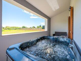 Lussuosa casa vacanza Melodia con jacuzzi e sauna, vicino alla spiaggia