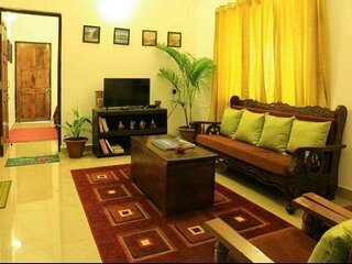 2 bedroom apartment as a homestay in a villa with breakfast & a pool