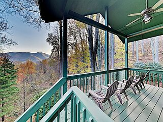 Private Mountain-View Escape | Peaceful 1.25 Acres | Near Skiing, Golf, Lake
