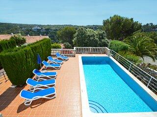 Villa Magnolia en Cala Galdana-piscina privada, free wifi, aire acondicionado