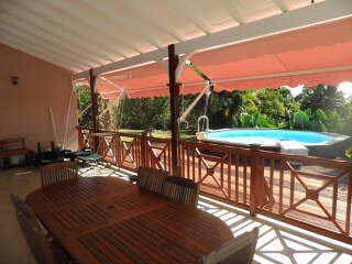 Nice villa with swimming-pool, vacation rental in Capesterre-Belle-Eau