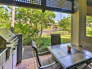 NEW! Kona Coast Condo w/ Lanai + Outdoor Kitchen!