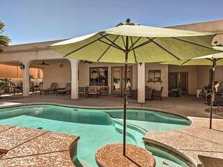 Lake Havasu City Paradise w/ Private Pool & Patio!