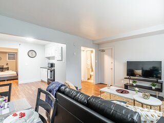 Newly Renovated - Bright and Modern 2BR - Near Downtown!