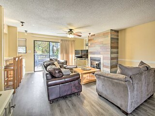 NEW! Hot Springs Condo on the Lake w/Resort Perks!