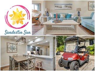 Sandestin Sun - Get Away for a Bit of December in Sandestin! Golf Cart Included!