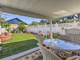 NEW! Vibrant PCB Townhome w/ Private Outdoor Oasis