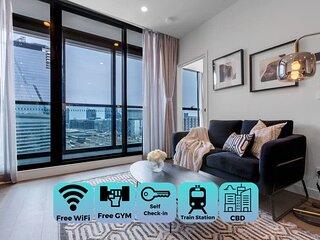 Stylist 1bed1bath apartment*west melbourne