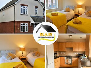 ⭐ B and R Serviced Accommodation and Apartments Amesbury⭐, Archer house