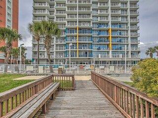 NEW! Beachfront Resort: Ocean View, Near Boardwalk