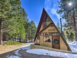 NEW! Green Valley Lake Cabin ~ Ski, Hike & Fish!