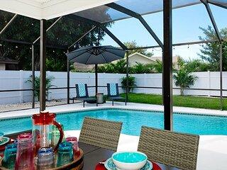 Anna Maria Villa - 4 bedrooms / 3 baths, heated pool and pet friendly