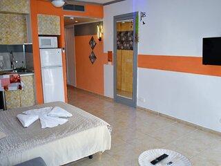 Apartamento moderno en Hotel de 4 estrellas con vistas al Teide