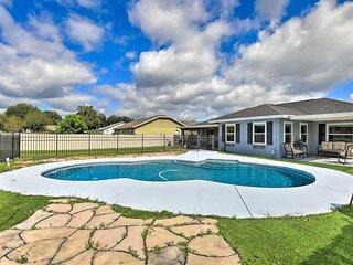 NEW! Family-Friendly Retreat w/ Backyard Oasis!