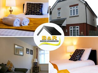 ⭐ B and R Serviced Accommodation and Apartments Amesbury ⭐, Barnard house