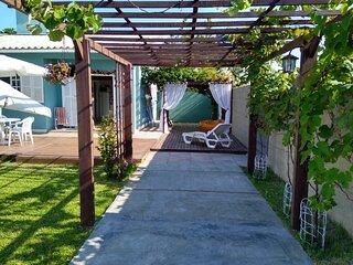 Casa-Loft & Trailer na Praia do Sonho, Palhoça-SC