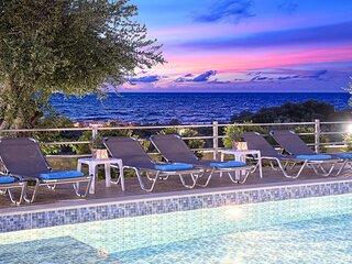 Aqua Blue Villa with Private Heated Pool