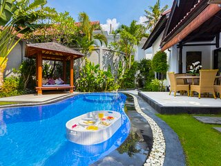 Seminyak Beach VILLA KIBBI 5 Star - 250 metres to Beach - Sleeps up to 10