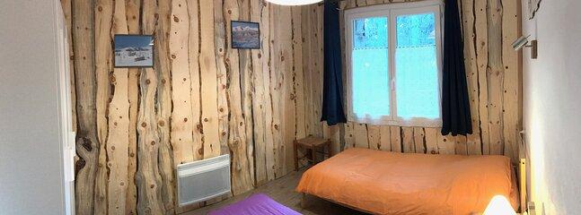 Chambre 2 lits 90/200
