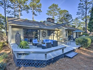 NEW! Pinehurst No. 6 Home w/ Library + Coffee Bar!