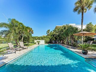 Gated Waterfront Estate with Private Pool, Dock & Garage | 4,200 Square Feet!