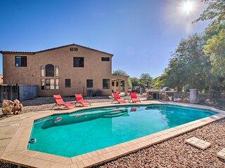 NEW! Family Home in Casa Grande w/ Private Oasis!