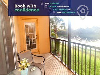 Lakeside Condo With Resort Amenities Near Disney!