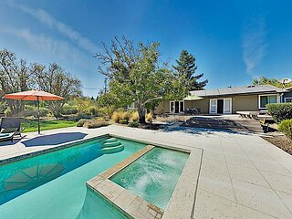 Vina Vista | Wine Country Escape with Private Cottage, Pool & Outdoor Kitchen