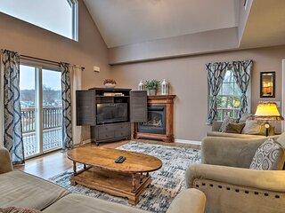 NEW! Hilltop Osage Beach Home w/ Deck & Fire Pit!