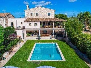 Can Corem de Son Moix, Villa de lujo con piscina