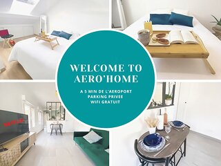 AERO'HOME - Parking Gratuit - Wifi Gratuit