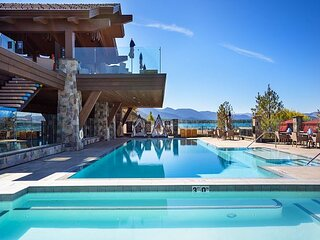 The Exclusive Tahoe Beach Club, Ultimate Beach Front Luxury #205