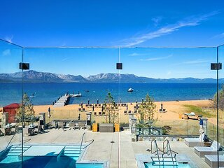 The Exclusive Tahoe Beach Club, Ultimate Beach Front Luxury #206