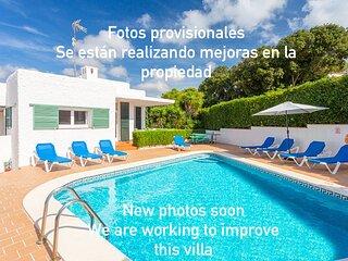 Villa Atalaia with private pool, free wifi, 5 minutes walk  Cala Galdana beach