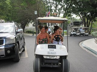 Residence /Crown Suite Includes Golf cart & BLACK BRACELET, vacation rental in Puerto Plata