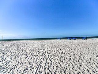 NEW! Beachfront Indian Shores Condo; Pool, Hot Tub