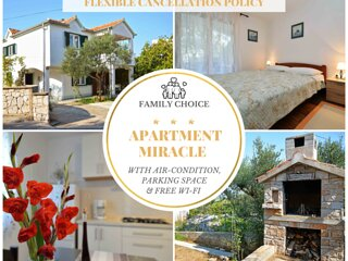 Family Paradise - 2 Bedrooms, WiFi, BBQ & Terrace