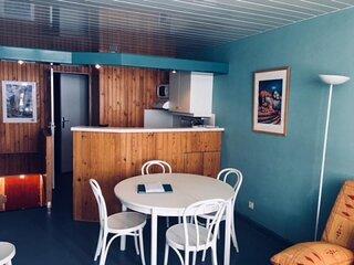 T2 cabine 6 personnes, résidence Mongie Tourmalet
