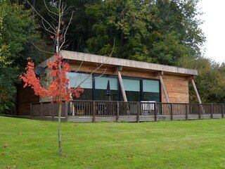 Yorkshire Dales Lodge 10 Ensuite - Award winning luxury eco-lodge. 3 bedrooms ea