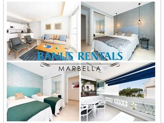 Nice and bright apartment, with sea views, in Puerto Banus